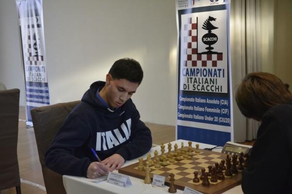 Carnicelli, Campione Italiano Under 18