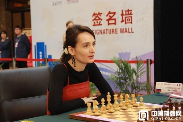 Kateryna Lagno, N°3 del Tabellone