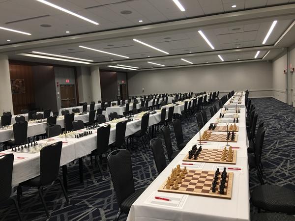 sala di gioco pronta ad ospitare i giocatori