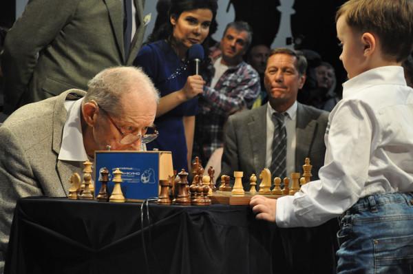 gli scacchi sono davvero un gioco senza età!