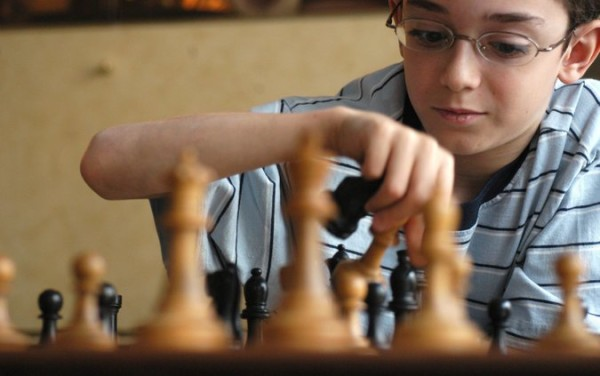 Caruana a 10 anni. Foto Angela Jimenez