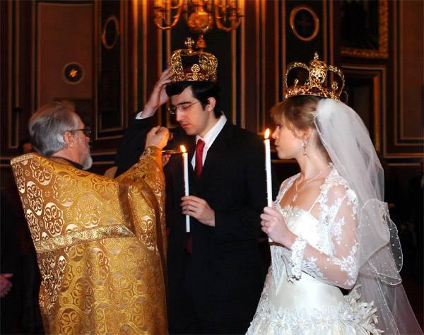il matrimonio di Kramnik nel 2006. Foto Karsten Hansel