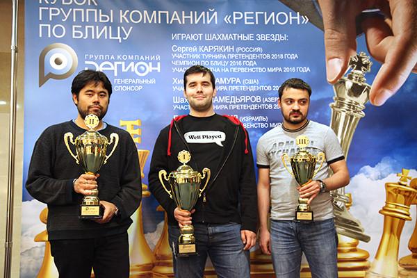 Il podio. Foto di Vladimir Barsky