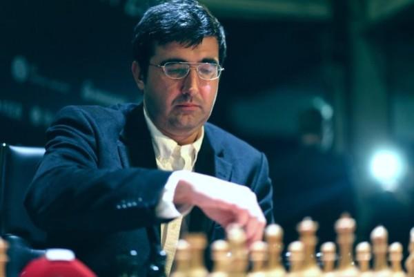 """L'""""immortale"""" di Kramnik contro Aronian. Foto FIDE"""