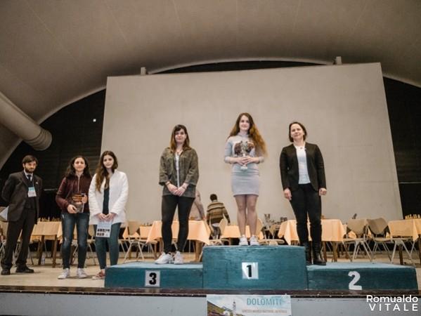 Blitz: podio Femminile