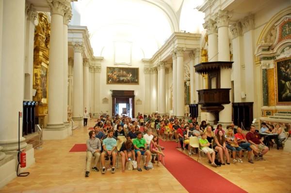 Premiazione presso la Pinacoteca S.Domenico, chiesta storica ricca di dipinti celebri