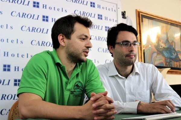 Luca Shytaj e Sabino Brunello