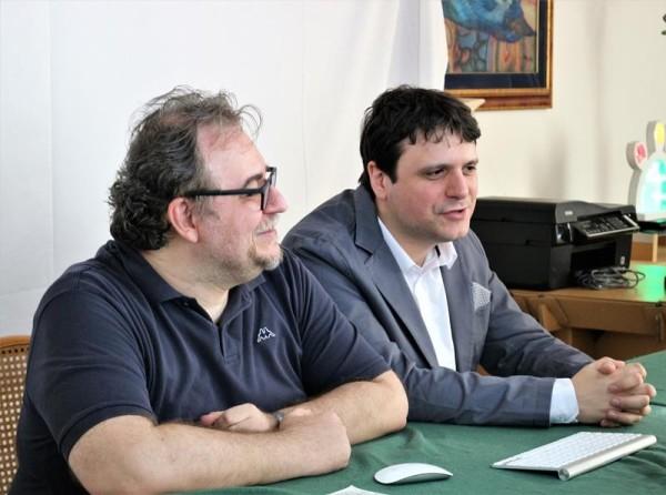 Negrini e Rettore, commentatori in diretta
