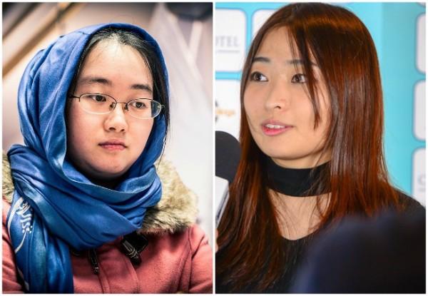 Tan Zhongyi e Ju Wenjun, protagoniste dle Match Mondiale 2018