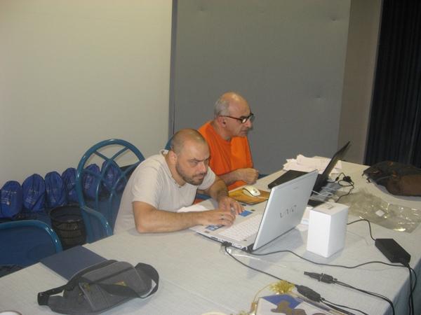 Fiori e Sergio Pagano
