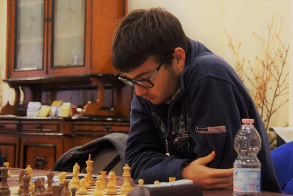 Lorenzo Lodici, nel CIA in qualità di Campione Italiano Under 20