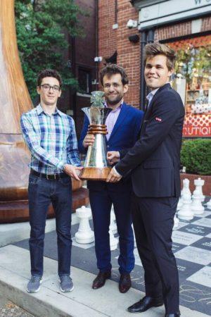 Sinquefield_2018_Trofeo_Caruana_Aronian_Carlsen