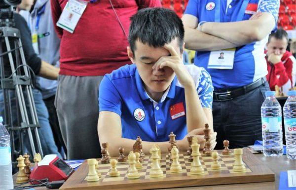 Ding Liren, Campione Olimpico e Oro in prima scacchiera!