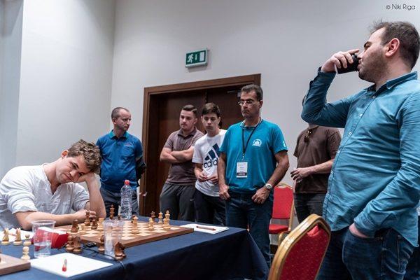 Finale della Mamedyarov-Carlsen