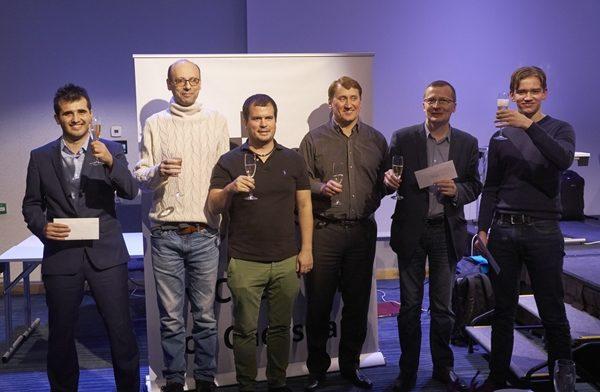 Premiazione dei primi sei