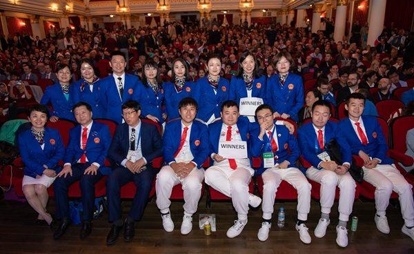 Premiazione_Olimpiadi_2018_Teams_Cina
