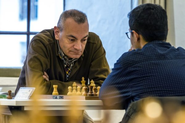 Fabrizio Bellia, N°1 del Tabellone di partenza