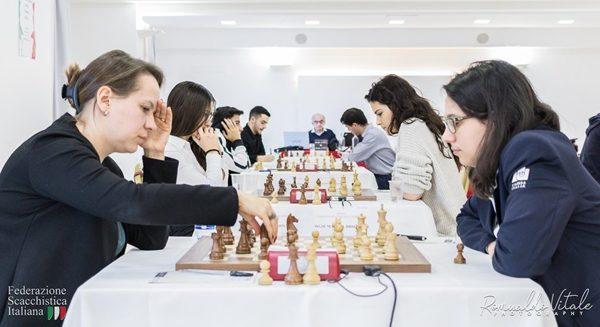 Sei partite (una classica, due rapid, due blitz e una Armageddon) tra Marina Brunello e Olga Zimina, sei vittorie del nero!