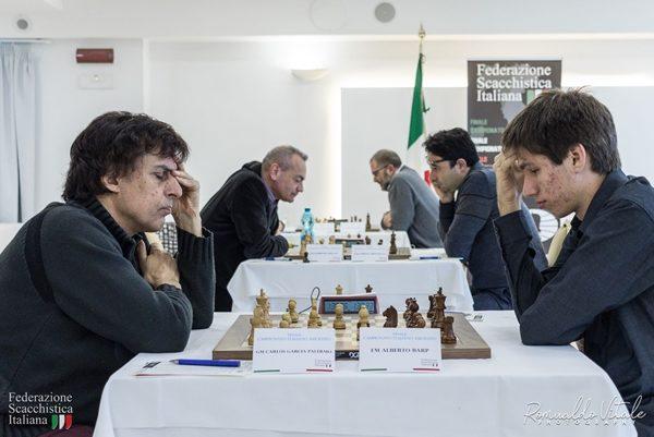 4° Turno . Garcia Palermo vince e aggancia in vetta David. Prima vittoria nel torneo per Brunello contro un Bellia che non conosce compromessi (2 vinte e 2 perse)