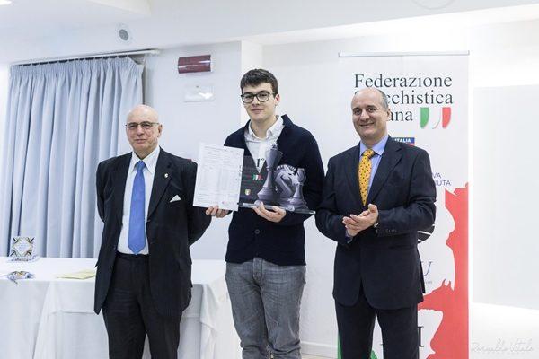 Lorenzo Lodici Campione Italiano Assoluto, con certificato della Norma GM
