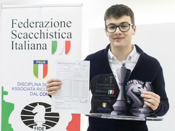 Il Campione Italiano Lorenzo Lodici