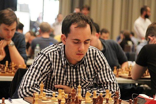 Il miglior giocatore della Sezione Open Sebastian Bogner