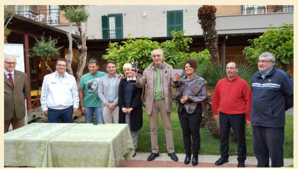 Orazio Guanciale Campione Regionale Lazio Foto circolo Alvise Zichici