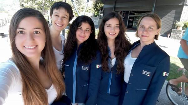 Alessia Santeramo ha preparato il Mondiale partecipanto allo stage pre olimpico