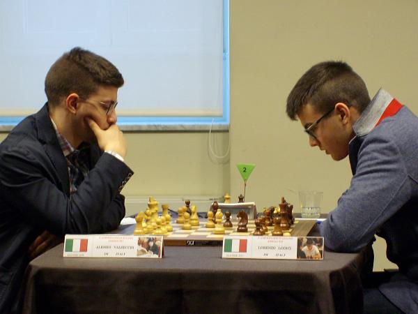 Valsecchi, qui nel CIA contro Lodici, reduce dalla buona prestazione nel Torneo di Zurigo