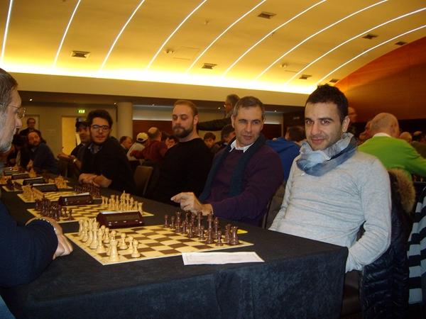 Aghayev prima scacchiera del Znaju Team, dominatore della competizione con 14/14!