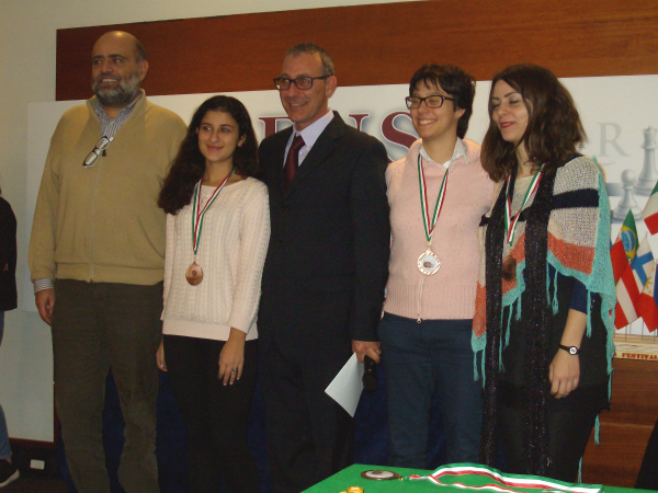 Tea Gueci, Marina Brunello e Nino Maisuradze