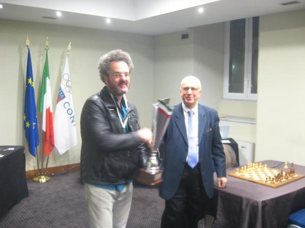il vincitore Alberto David