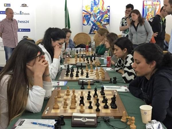 Caissa domina (3,5-0,5) il big match contro Padova