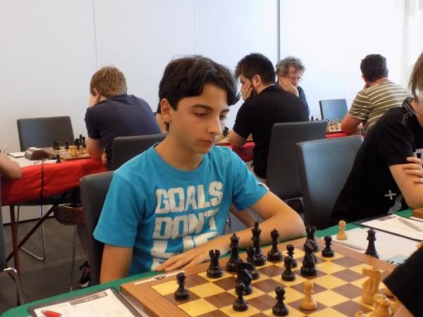 Edoardo Di Benedetto, Semifinale U20