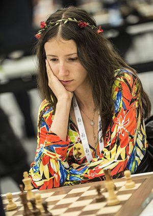 La migliore rappresentante femminile, Iva Videnova