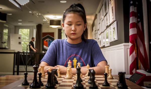 Bibisara Assaubayeva, Campionessa del Mondo U12 nel 2016 e U8 nel 2011. photo: Spectrum Studios, St. Louis Chess Club Flickr