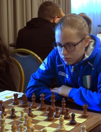 Maria Palma. Foto pagina FB Federazione uruguaiana
