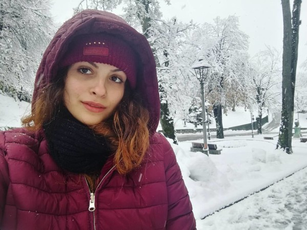 Desiree Di Benedetto a Tarvisio. Pagina FB