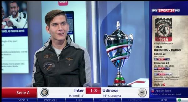 Luca Moroni, Campione Italiano in Carica e Numero Uno del Tabellone di partenza