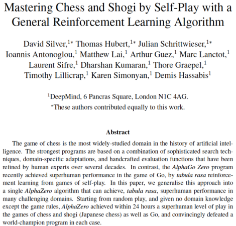 mastering-chess-and-shogi-by-self-play-with-a-general-reinforcement-learning-algorithm