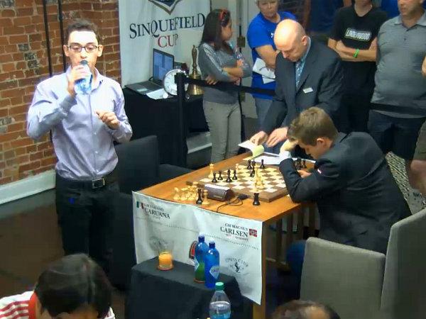 """Caruana ha giocato una partita """"perfetta"""" contro il Campione del Mondo"""
