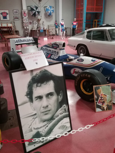 foto Williams + Ayrton Senna
