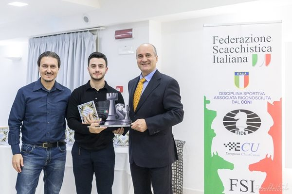 Seresin Vince Campione Italiano Under 20