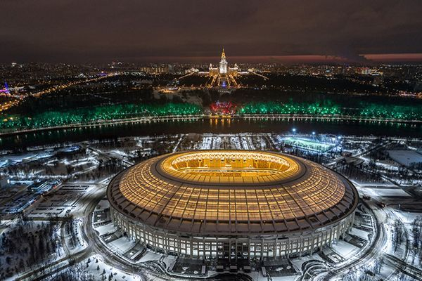 sede Grand Sports Arena at the Luzhniki Olympic Complex