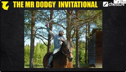MrDodgy Invitational 2020 uomo a cavallo