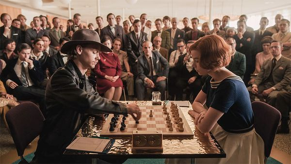 Regina degli scacchi - PHOTO Phil Bray-Netflix