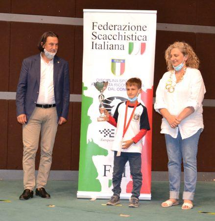 Di Liberto Michele_Campione_italiano_U8_2021