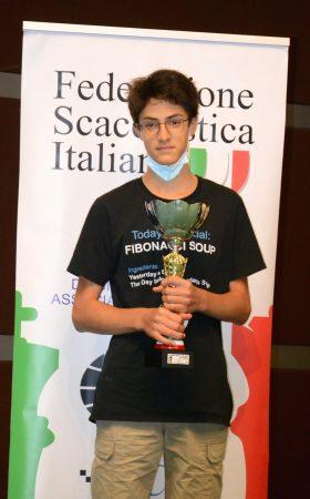Pozzari Simone_Campione_italiano_U16_2021